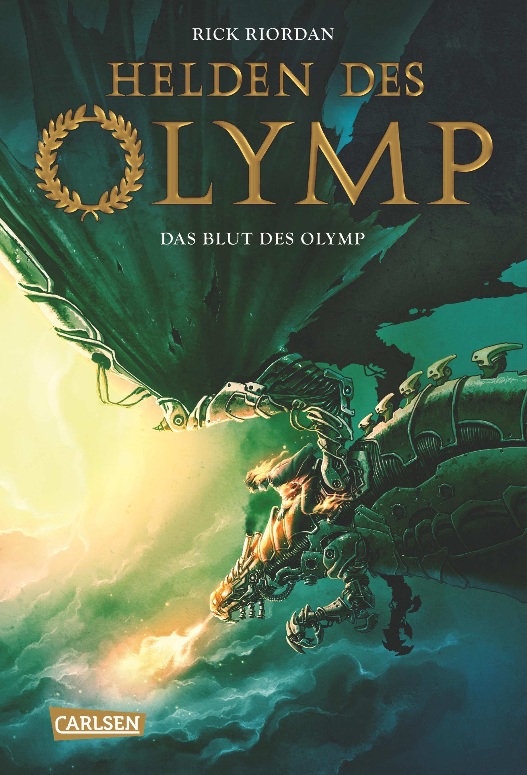 Helden des Olymp: Band 5 - Das Blut des Olymp - Rick Riordan