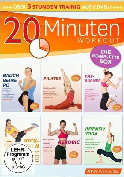 20 Minuten Fitness- Box 5 Stunden Training [6 DVDs]