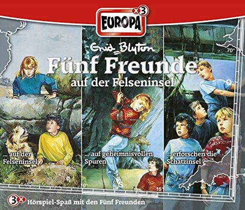 Fünf Freunde: Folgen 12 / 18 / 20 - ... auf der Felseninsel [3er Box]