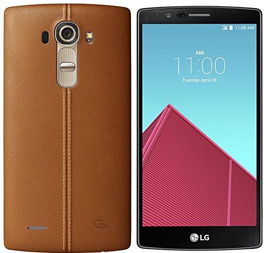 LG H815 G4 32GB Echtleder braun