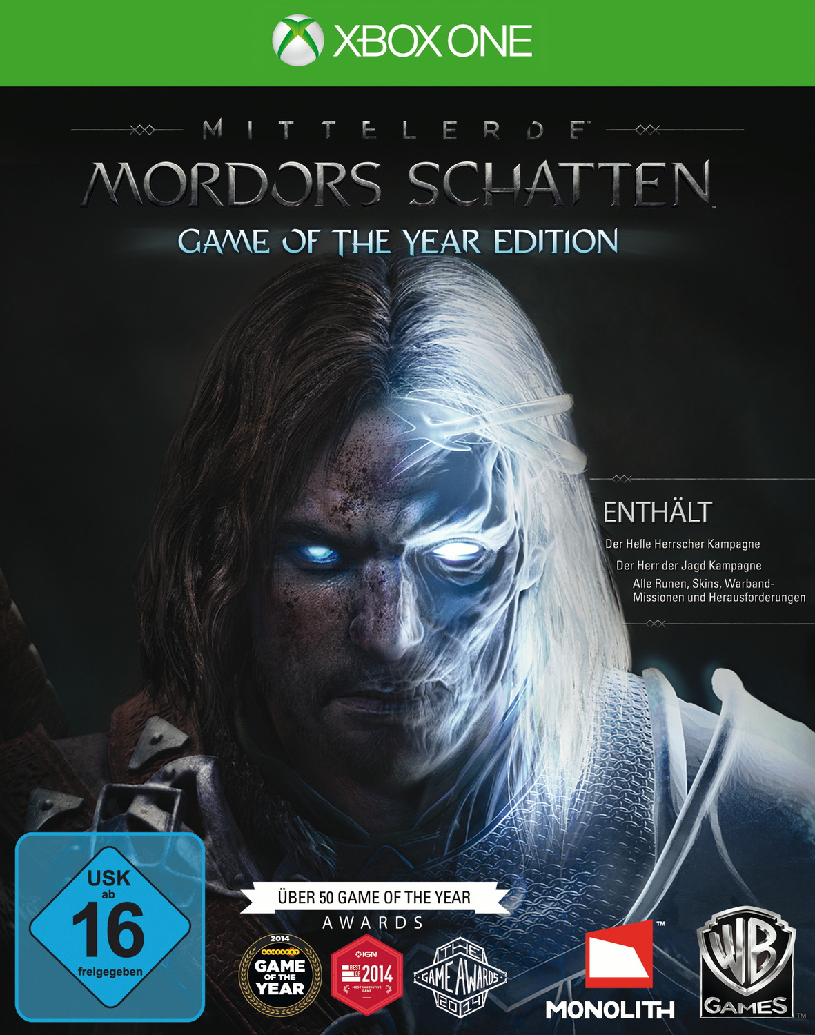 Mittelerde: Mordors Schatten [Game of the Year ...