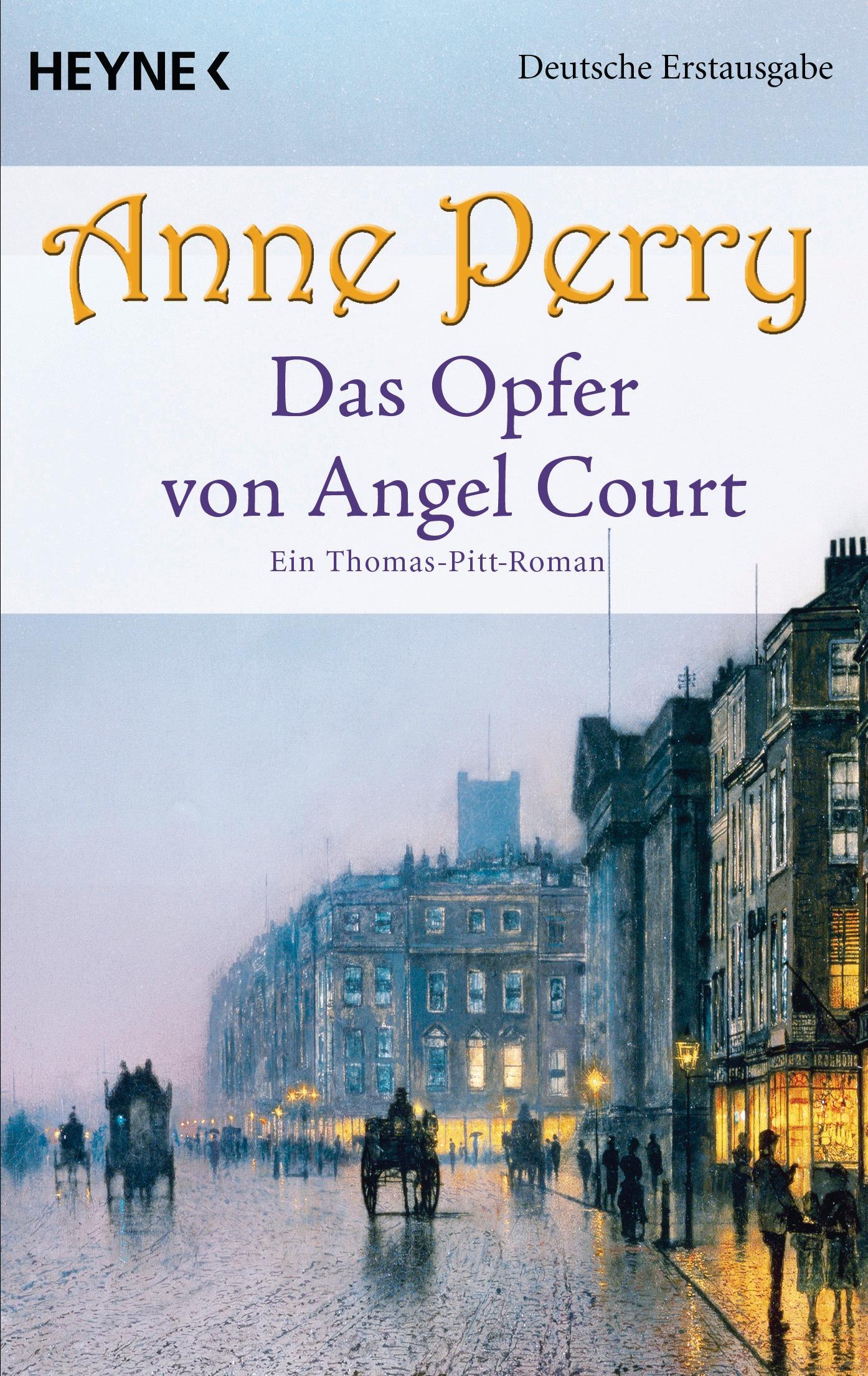 Das Opfer von Angel Court: Ein Thomas-Pitt-Roman - Perry, Anne
