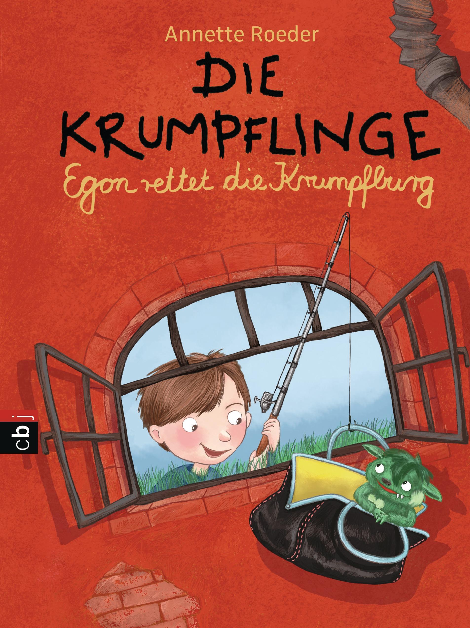 Die Krumpflinge: Band 5 - Egon rettet die Krumpfburg - Annette Roeder