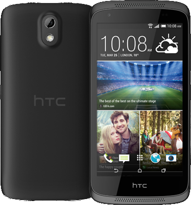HTC Desire 526G Dual SIM 8GB stealth black