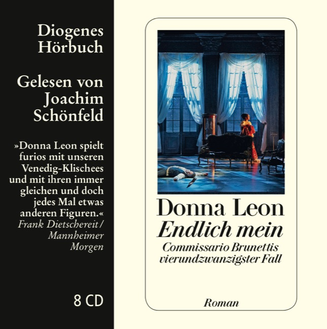 Endlich mein: Commissario Brunettis vierundzwanzigster Fall - Donna Leon [7 CDs]