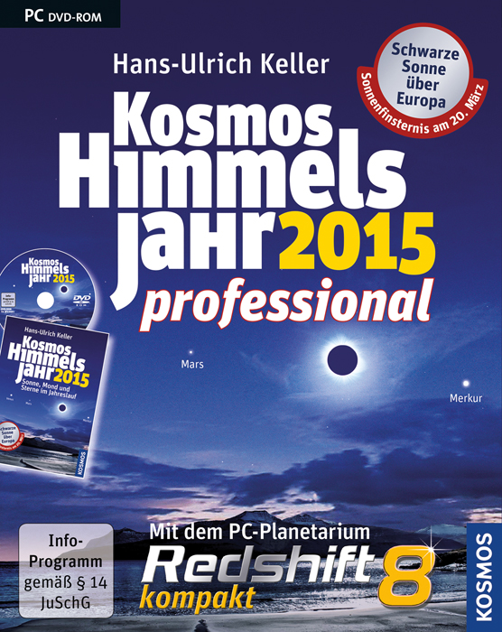Kosmos Himmelsjahr 2015 professional: Mit dem P...