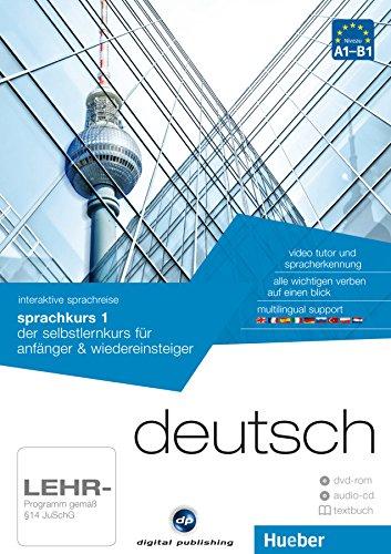 interaktive sprachreise sprachkurs 1 deutsch: der selbstlernkurs für anfänger & wiedereinsteiger / Paket: 1 DVD-ROM + 1 Audio-CD + 1 Textbuch (AUTO)