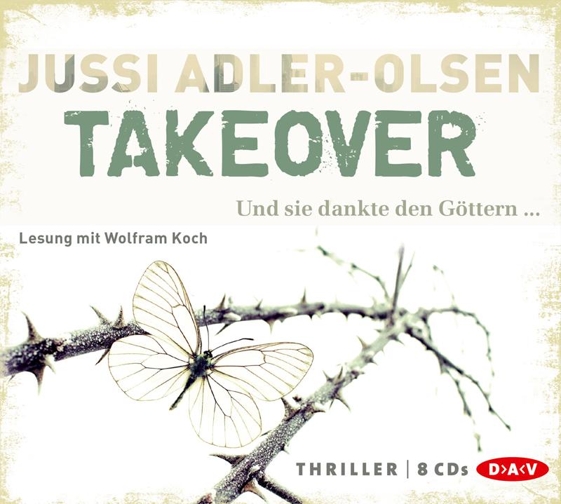 Takeover: Und sie dankte den Göttern... - Jussi Adler-Olsen [8 Audio CDs]
