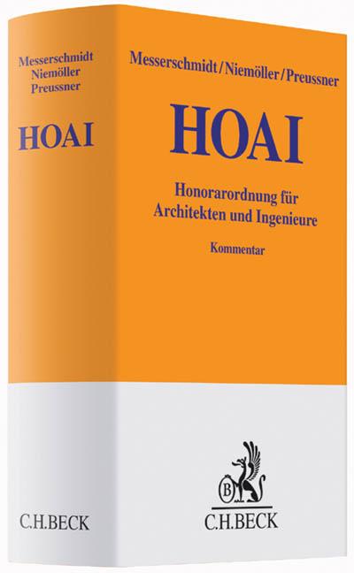 HOAI: Honorarordnung für Architekten und Ingeni...