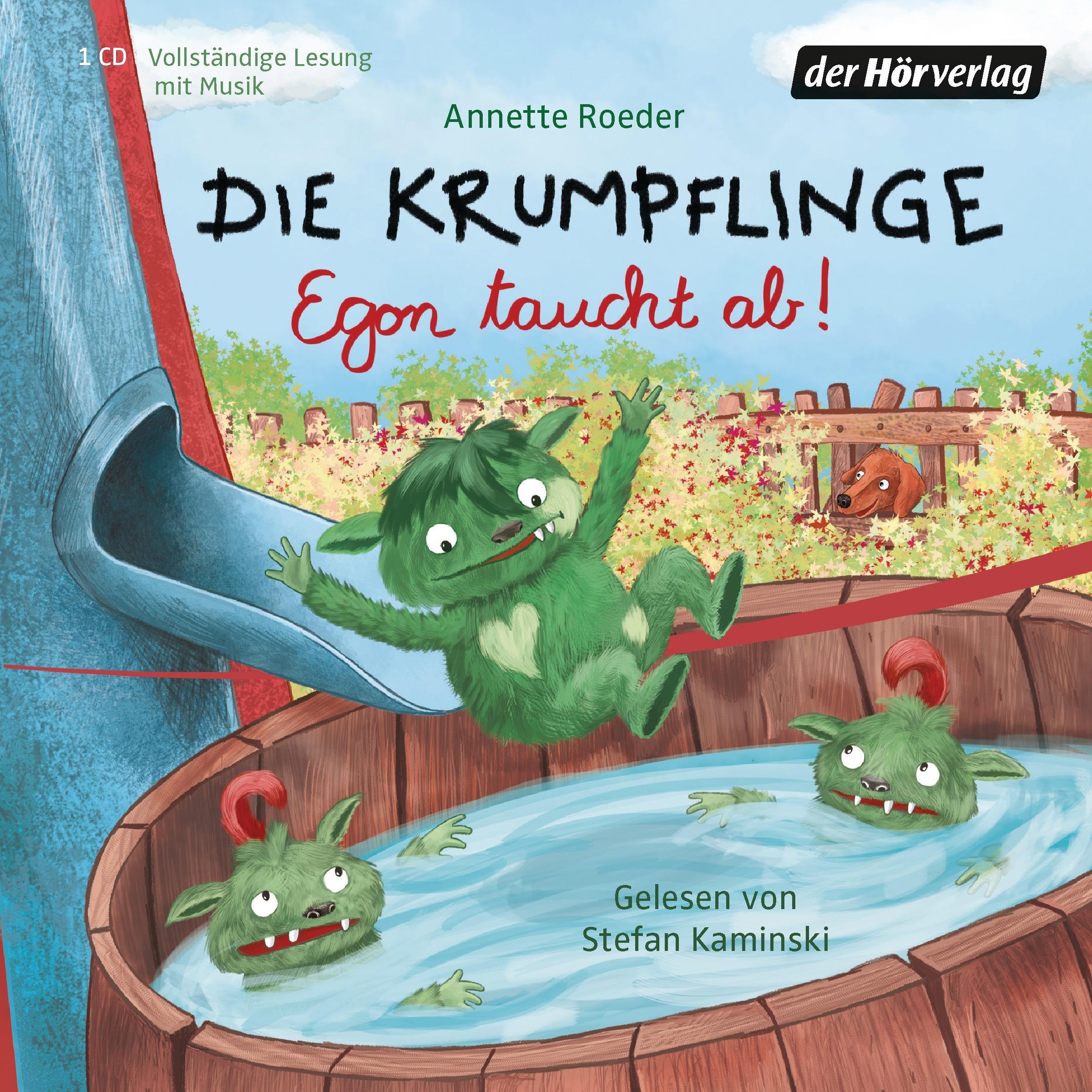 Die Krumpflinge: Folge 4 - Egon taucht ab - Annette Roeder