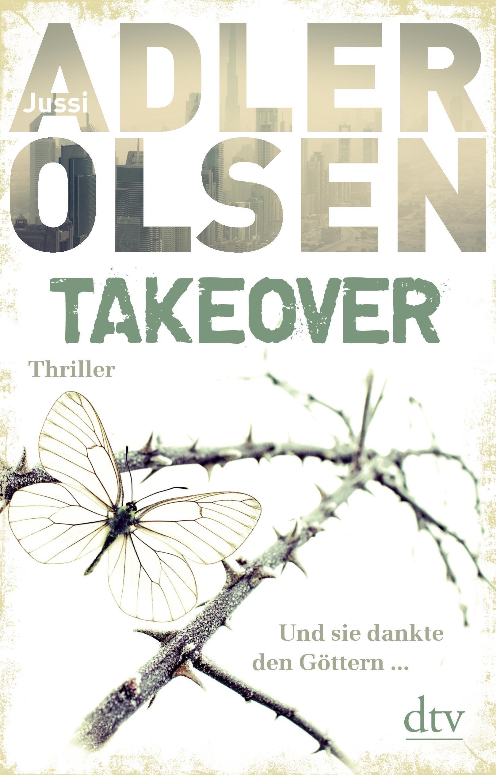 TAKEOVER - Jussi Adler-Olsen