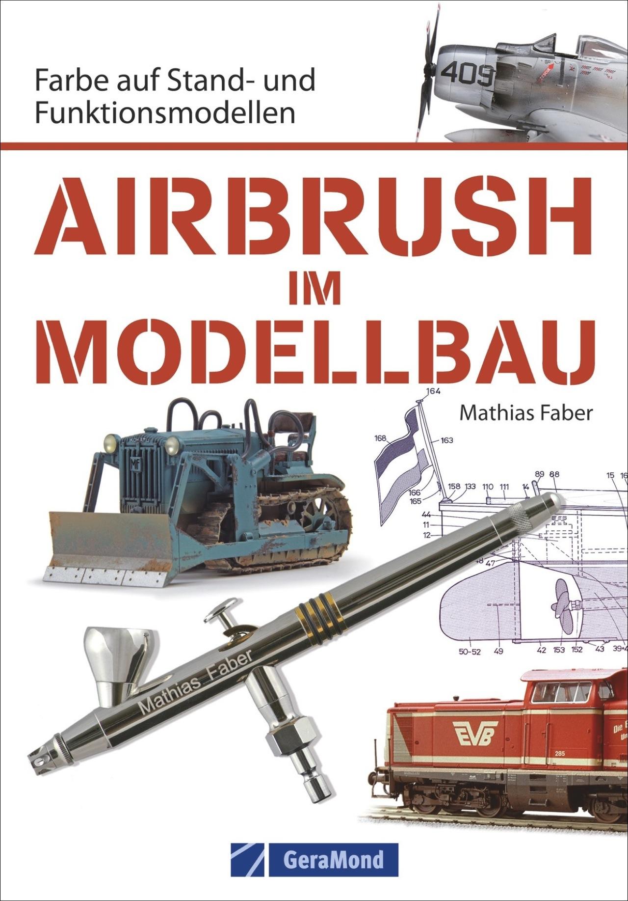 Airbrush Modellbau: Farbe auf Stand- und Funkti...