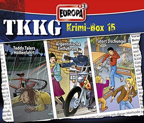 TKKG - Krimi-Box: Folgen 126 / 136 / 169 [3er Box]