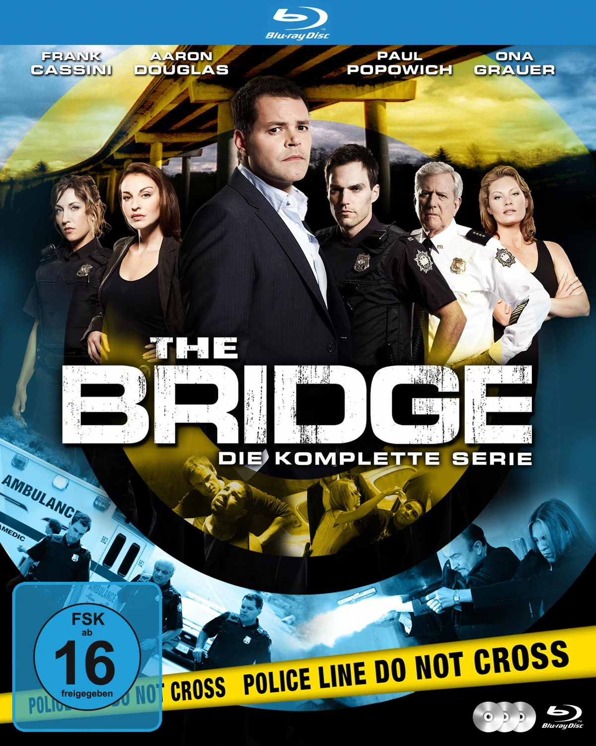 The Bridge - Die komplette Serie [3 Discs]