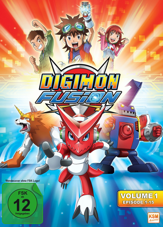 Digimon Fusion Vol. 1 [3 DVDs]