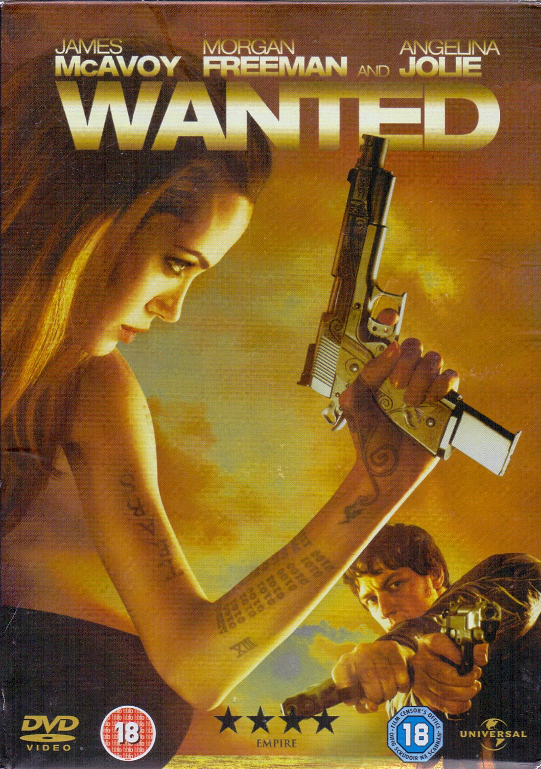Wanted [inkl. Comicheft, UK Import]