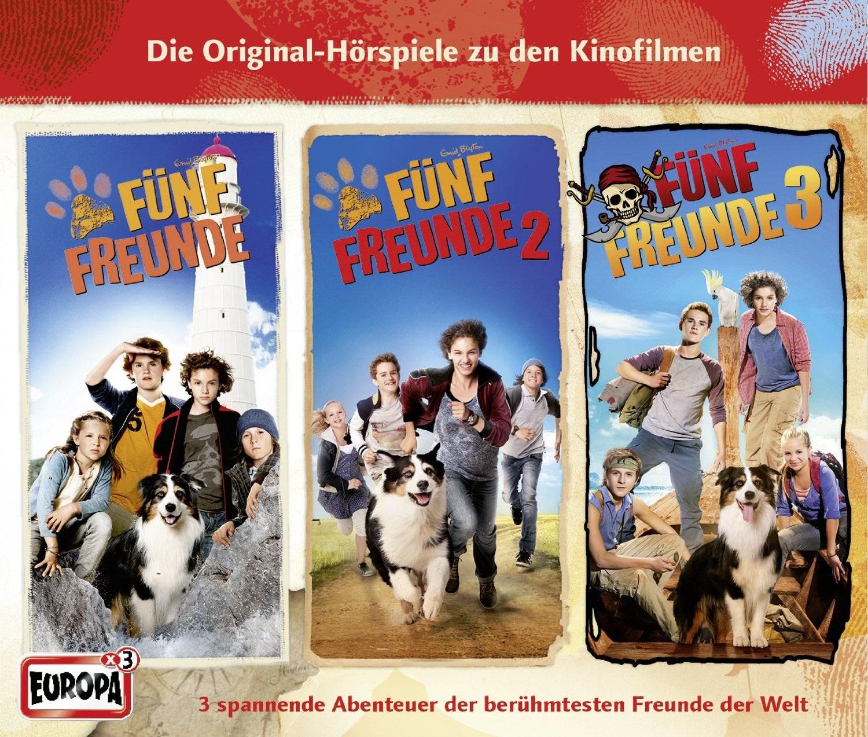 Fünf Freunde: Filmhörspiele 1-3