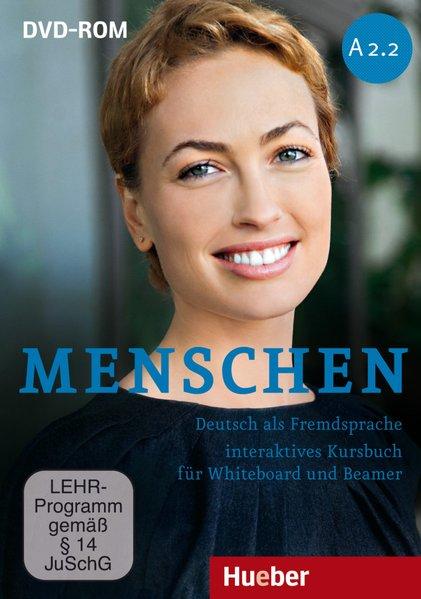 Menschen A2/2: Deutsch als Fremdsprache / Interaktives Kursbuch für Whiteboard und  Beamer - DVD-ROM - Habersack, Charlotte