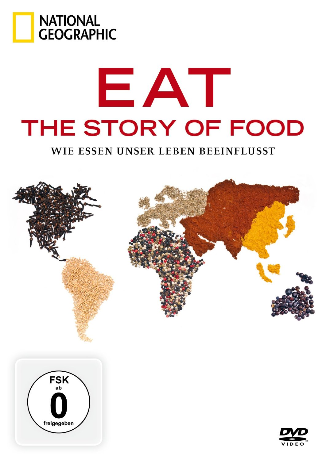 National Geographic - Eat: The Story of Food - Wie Essen unser Leben beeinflusst [2 DVDs]