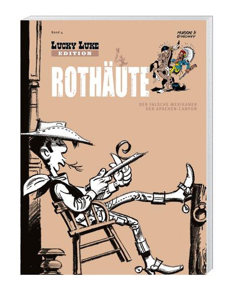 Lucky Luke Edition 04 Rothäute: mit Figur - Morris