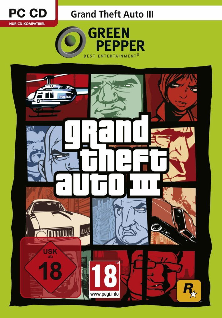 Grand Theft Auto 3 [Green Papper]