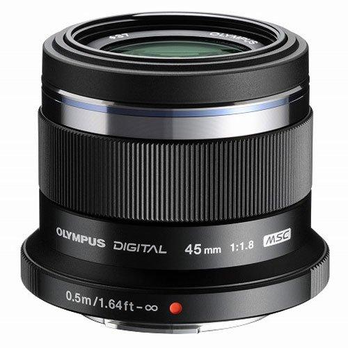 olympus m.zuiko digital 45 mm f1.8 37 mm obiettivo (compatible con micro four thirds) nero