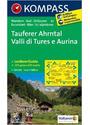 Tauferer Ahrntal - Valle di Tures e Aurina: Wanderkarte mit Aktiv Guide, Radrouten und alpinen Skirouten - 1:50000