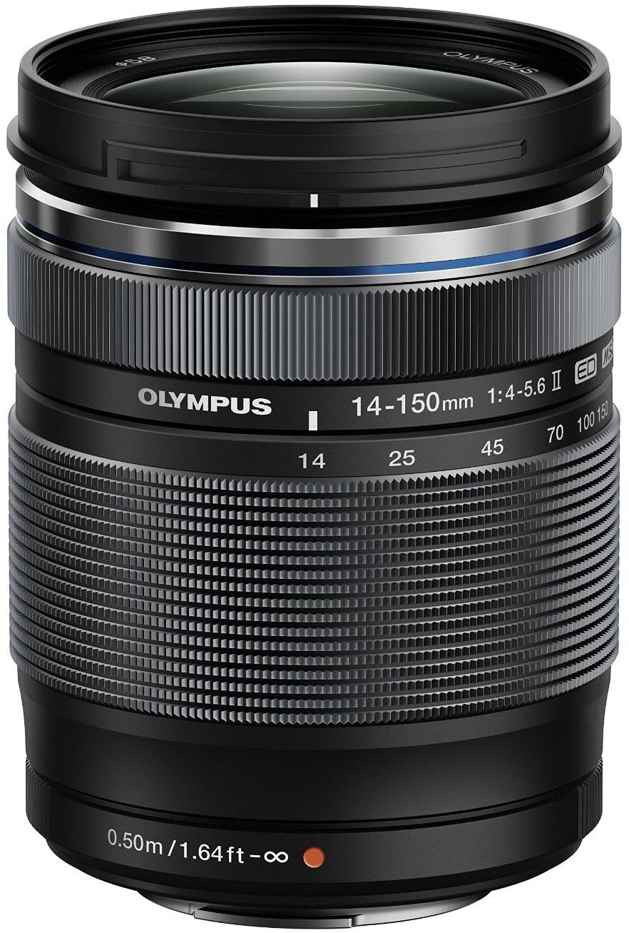 Olympus 14-150 mm 4-5.6 ED II 58 mm Filtergewinde (Olympus Micro Four Thirds Anschluss) schwarz