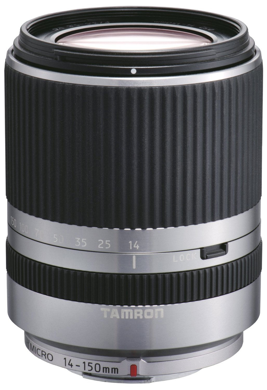 Tamron 14-150 mm F3.5-5.8 Di III 52 mm Filtergewinde (Micro Four Thirds Anschluss) silber