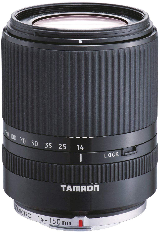 Tamron 14-150 mm F3.5-5.8 Di III 52 mm Filtergewinde (Micro Four Thirds Anschluss) schwarz
