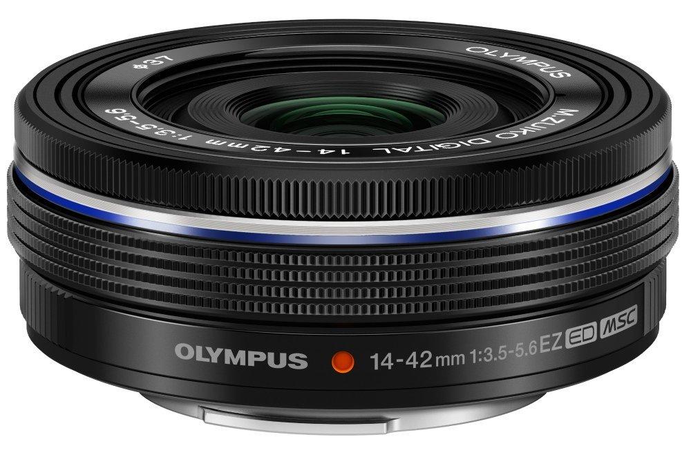 Olympus 14-42 mm 3.5-5.6 ED EZ 37 mm Filtergewinde (Olympus Micro Four Thirds Anschluss) schwarz