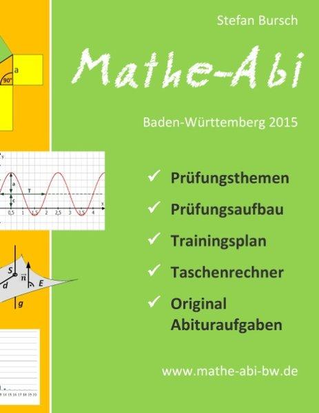 Mathe-Abi Baden-Württemberg 2015 - Bursch, Stefan