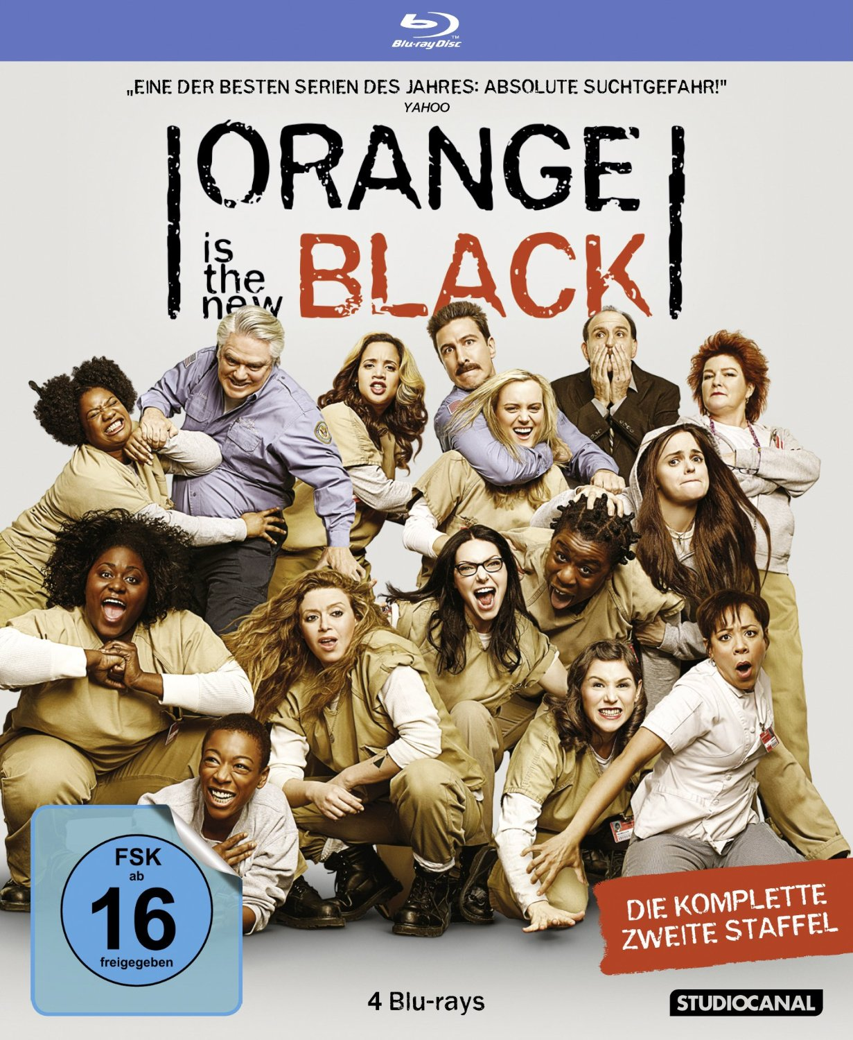 Orange is the New Black - 2. Staffel [4 Discs]
