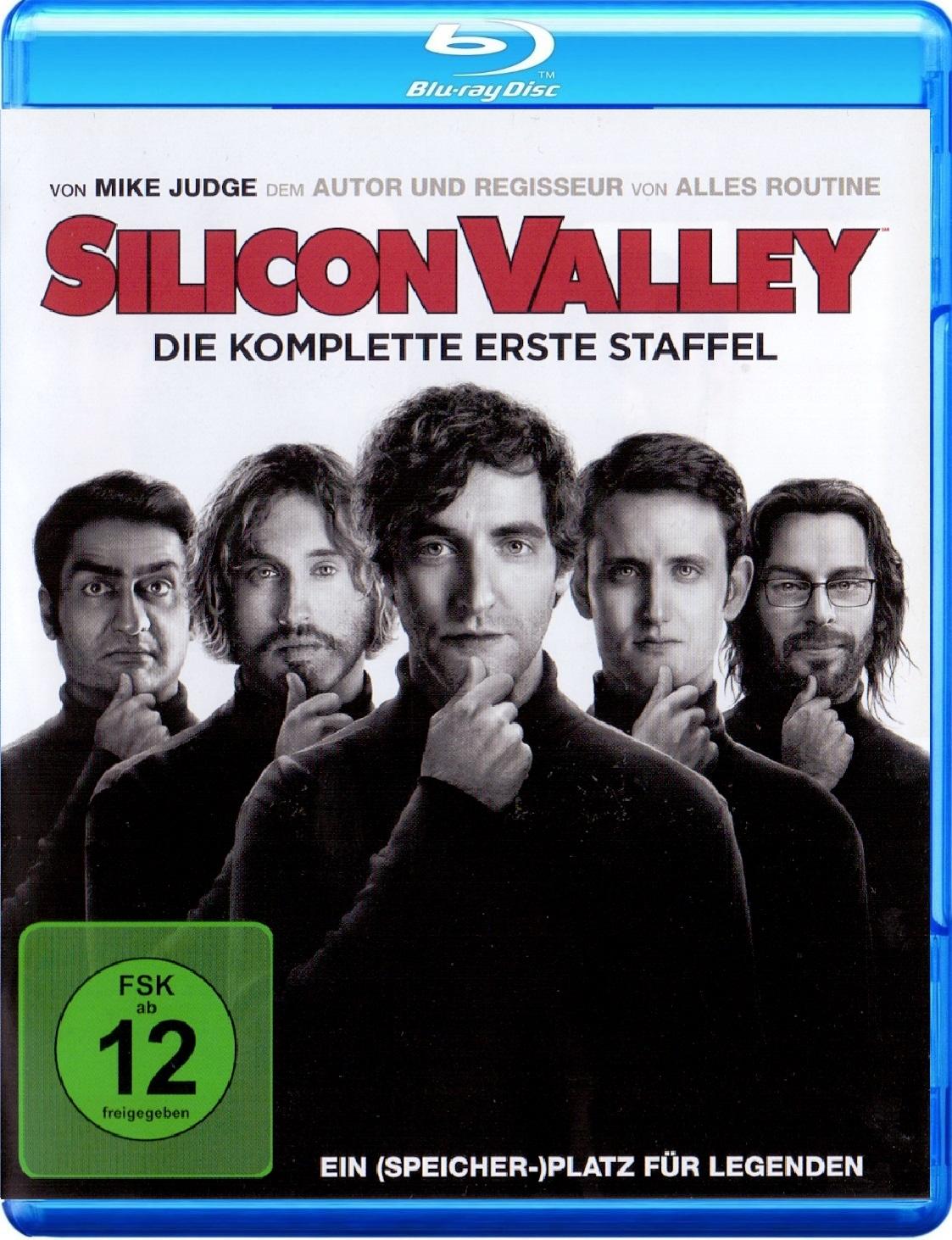 Silicon Valley: Die komplette erste Staffel [2 Discs]