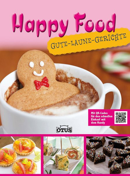 Happy Food: mit QR-Code - -