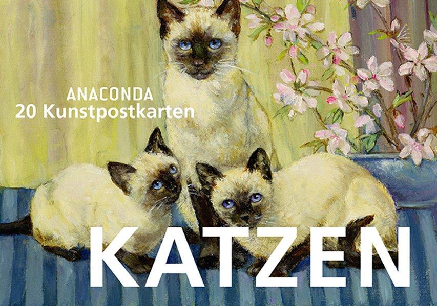 Postkartenbuch Katzen - Anaconda