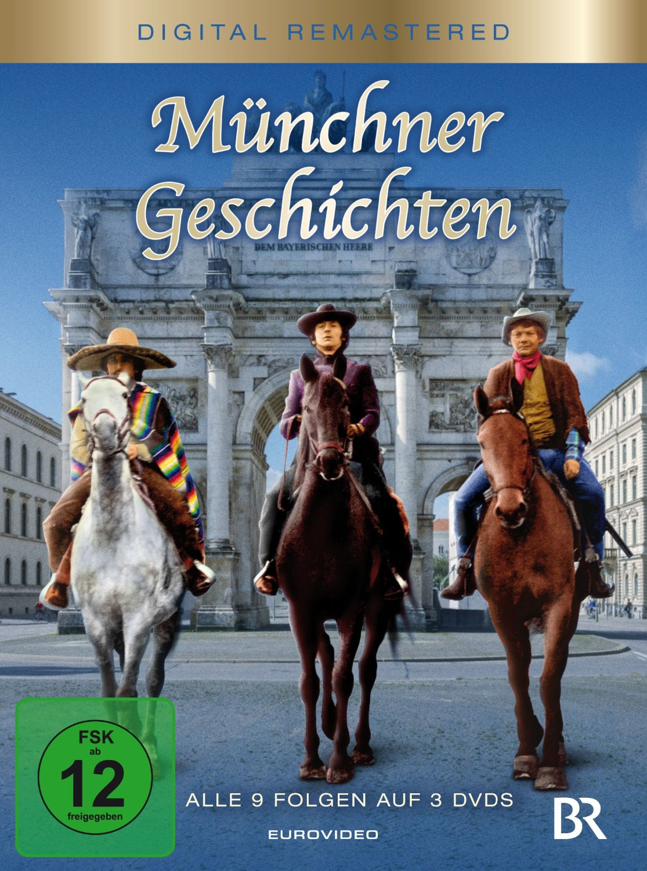 Münchner Geschichten - Folge 1-9 [3 DVDs]