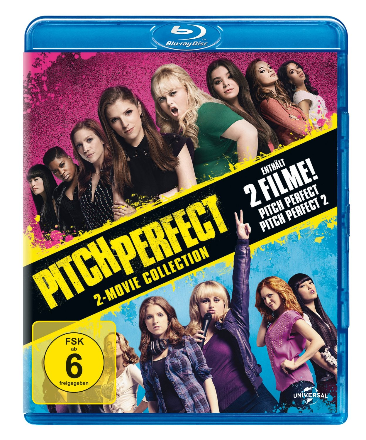 Pitch Perfect 1&2 Box [2 Discs]