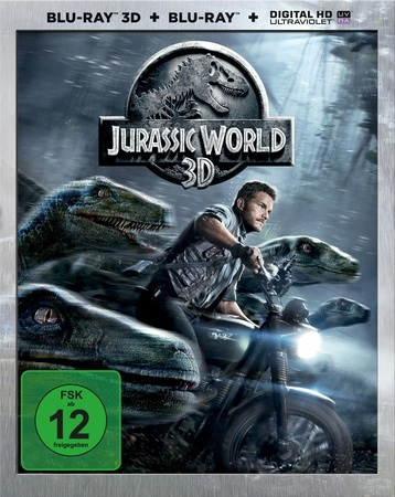 Jurassic World 3D [2 Discs, inkl. 2D Version]