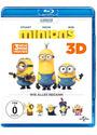Minions 3D [inkl. 2D Version, 2 Discs]
