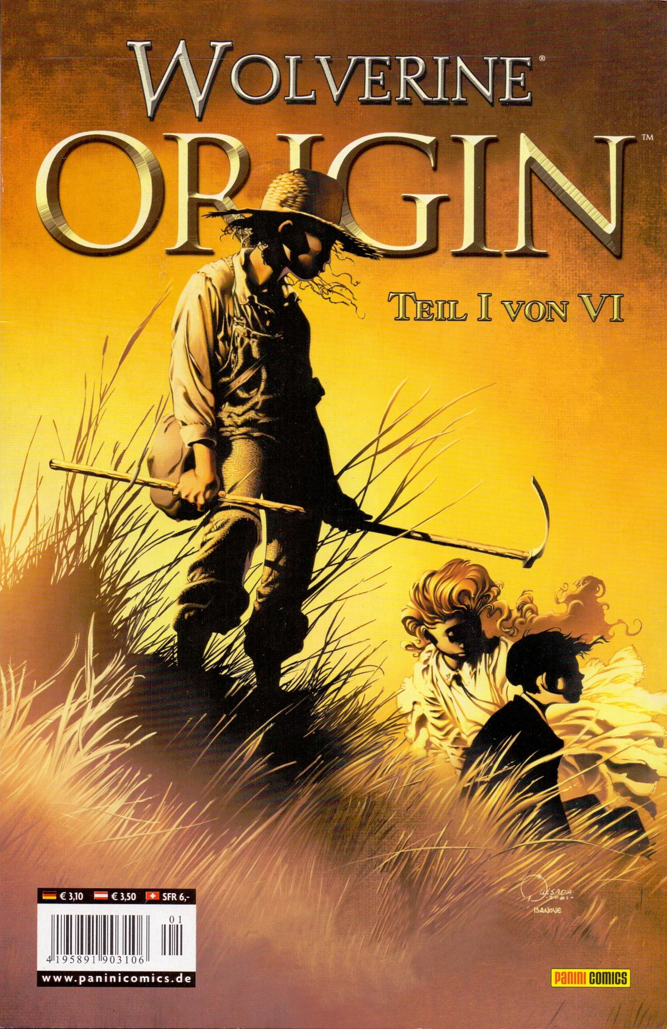 Wolverine Origin: Teil 1 - Der Hügel - Paul Jenkins [Broschiert]