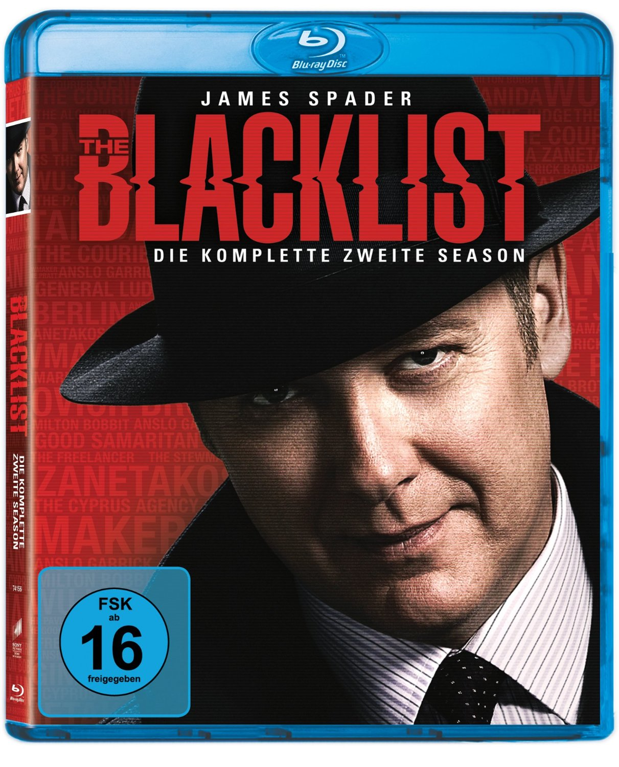 The Blacklist - Die komplette zweite Season [6 Discs]