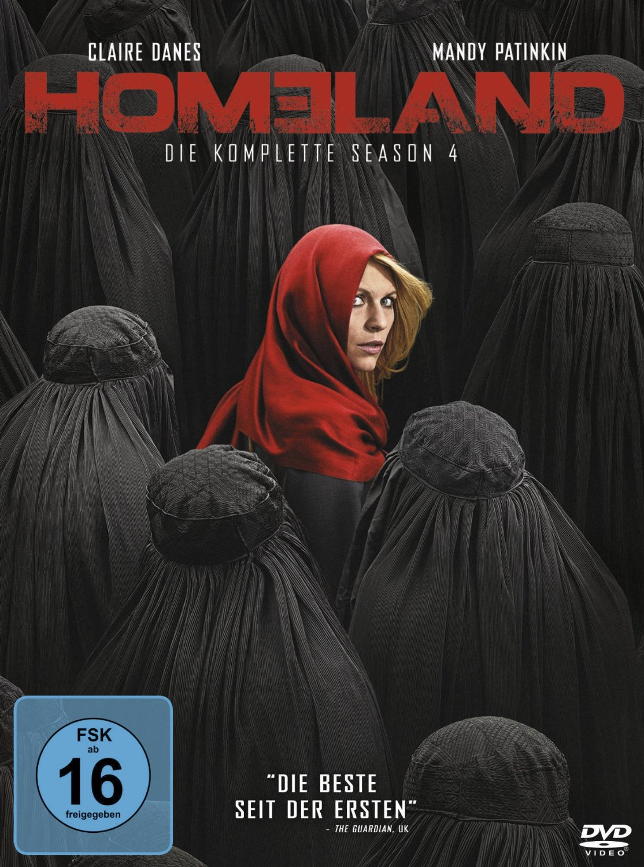 Homeland - Die komplette Season 4 [4 DVDs]