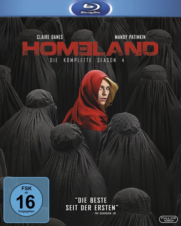 Homeland - Season 4 [3 Discs]