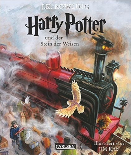 Harry Potter - Band 1: Harry Potter und der Stein der Weisen- Joanne K. Rowling [vierfarbig illustrierte Schmuckausgabe]