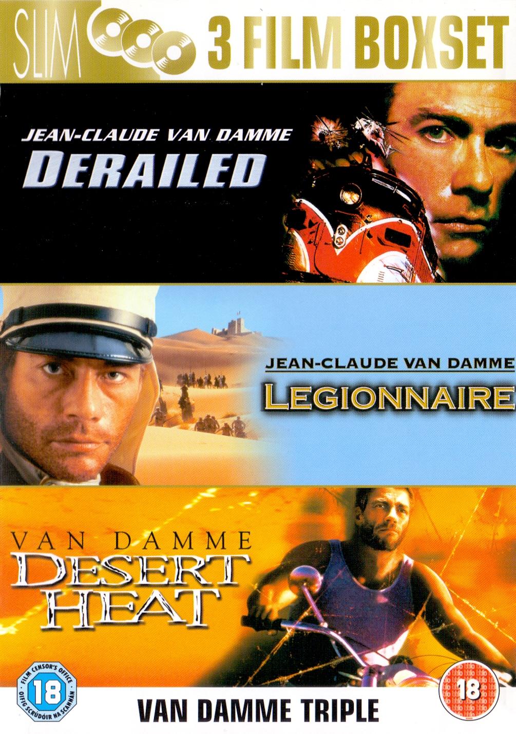 Derailed / Legionnaire / Desert Heat [3 DVDs, Import]