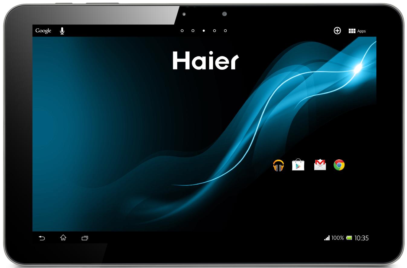 Haier Pad 1043 10,1 16GB [Wi-Fi] schwarz
