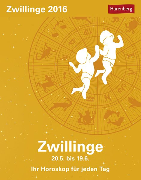 Zwillinge 2016: Ihr Horoskop für jeden Tag - Sa...