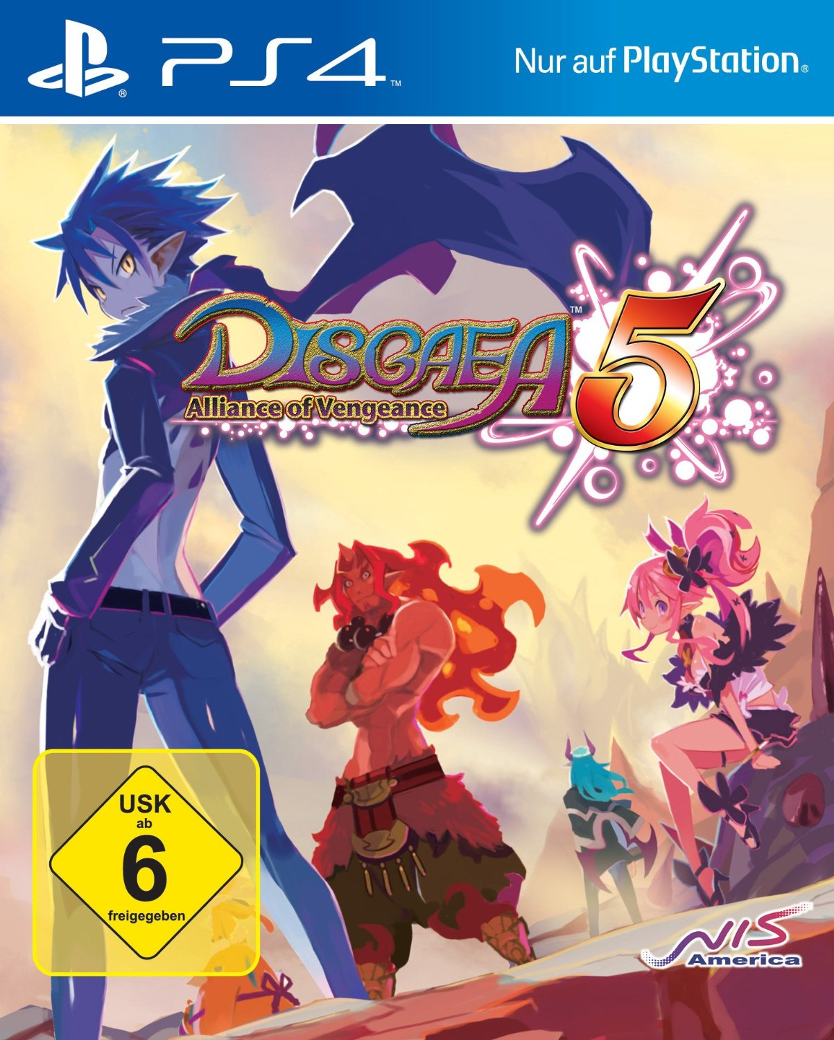 Disgaea 5: Alliance of Vengeance [Launch Edition]