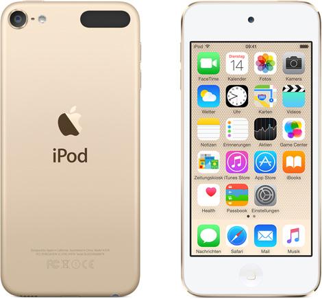 Vorschaubild von Apple iPod touch 6G 16GB gold